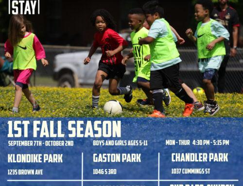 Our Fall Season for boys and girls ages 5-11 will start in 22 days!  //  ¡Nuestra temporada de otoño para niños y niñas de 5 a 11 años comenzará en 22 días!